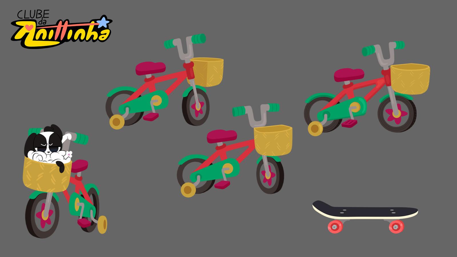 Prop Design - Bike and Skate