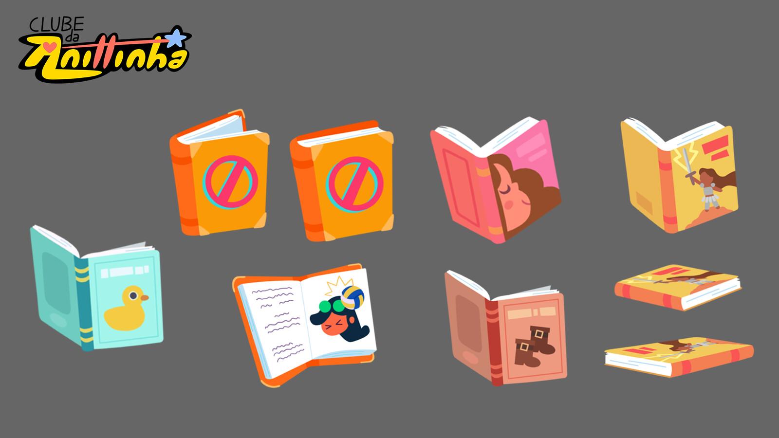 Prop Design - Books