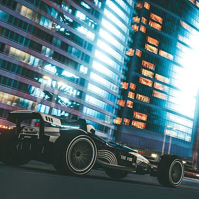 Trackmania 2 : Lagoon City And Wheel By Night