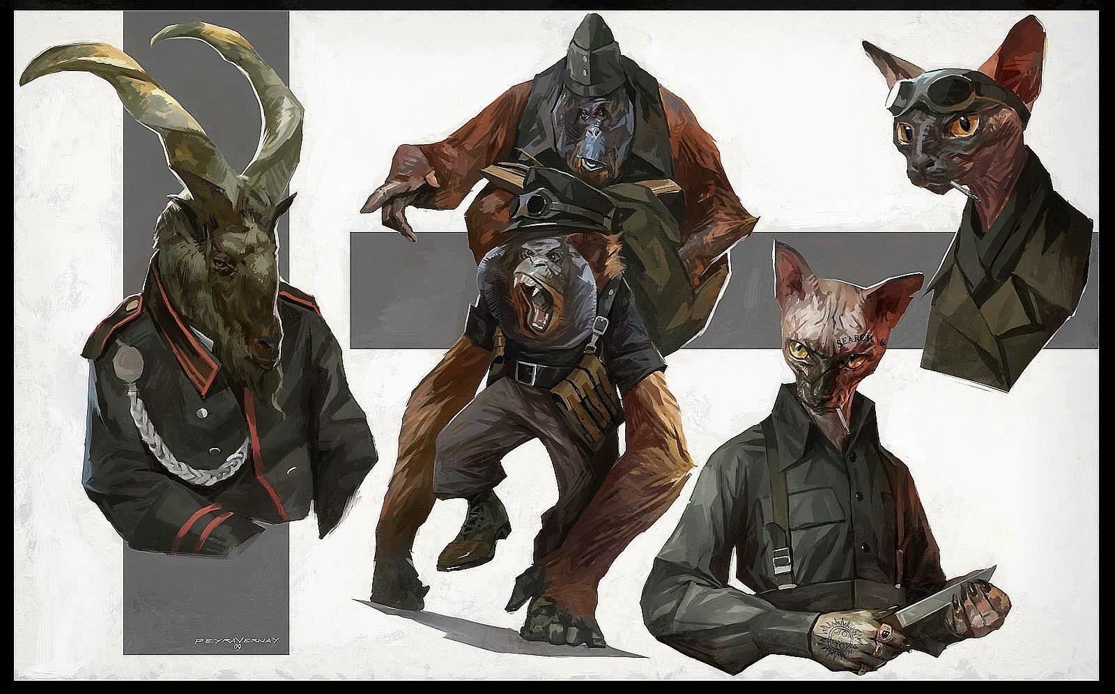 Sphynx troops