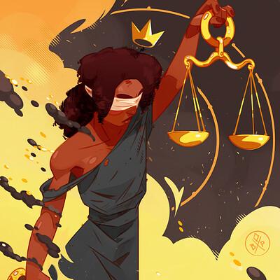 Benjamin paulus justice artstation