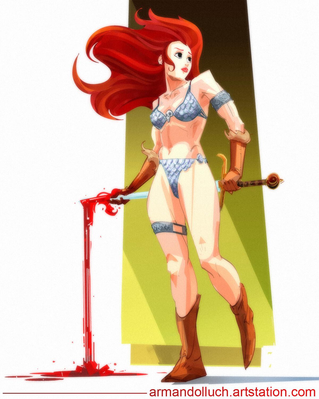 Red Sonja (fan art)