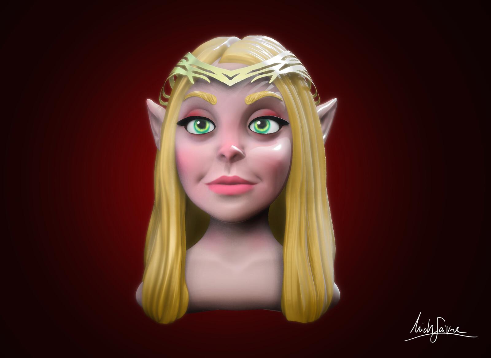 Blondie Elf
