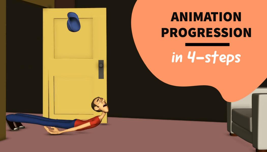 Feeling Down, Animation Progression