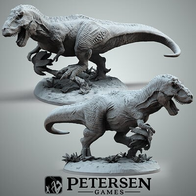 Francesco orru trex render