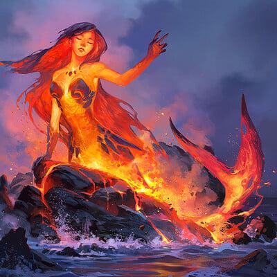 Sandara tang mermaid