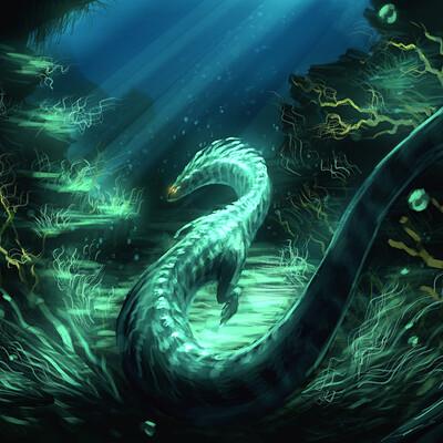 Eben schumacher eben schumacher underwater dragon no border