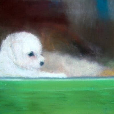 Kathy brosnan doggie in the window