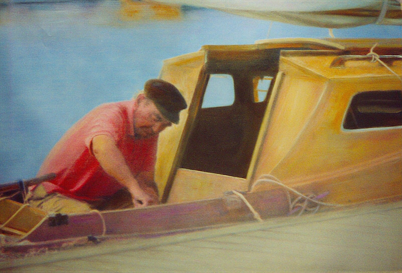 Fisherman in Boat, St Tropez