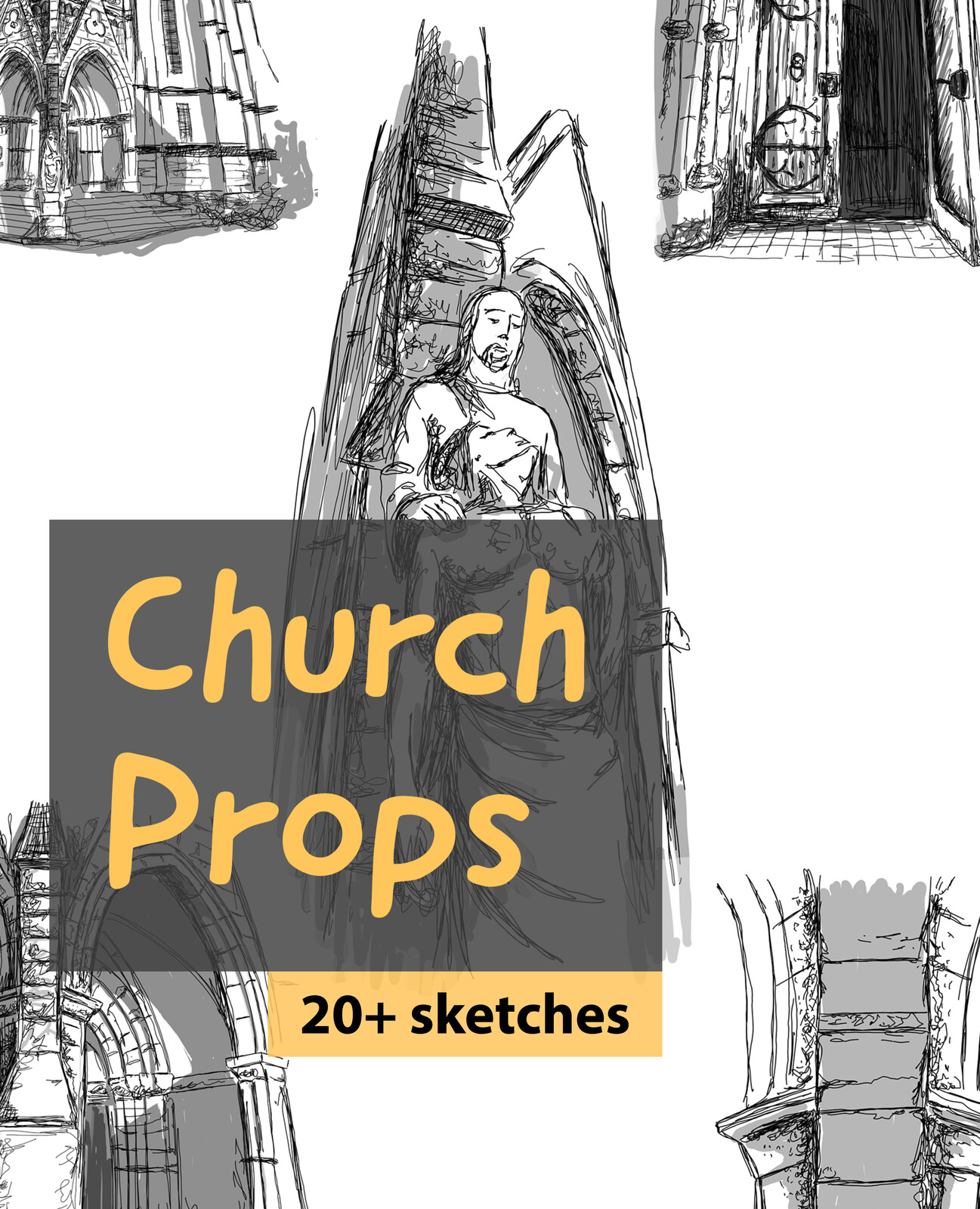 Church Concepts, 20+ sketches