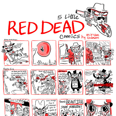 Miriam gibson red dex comics