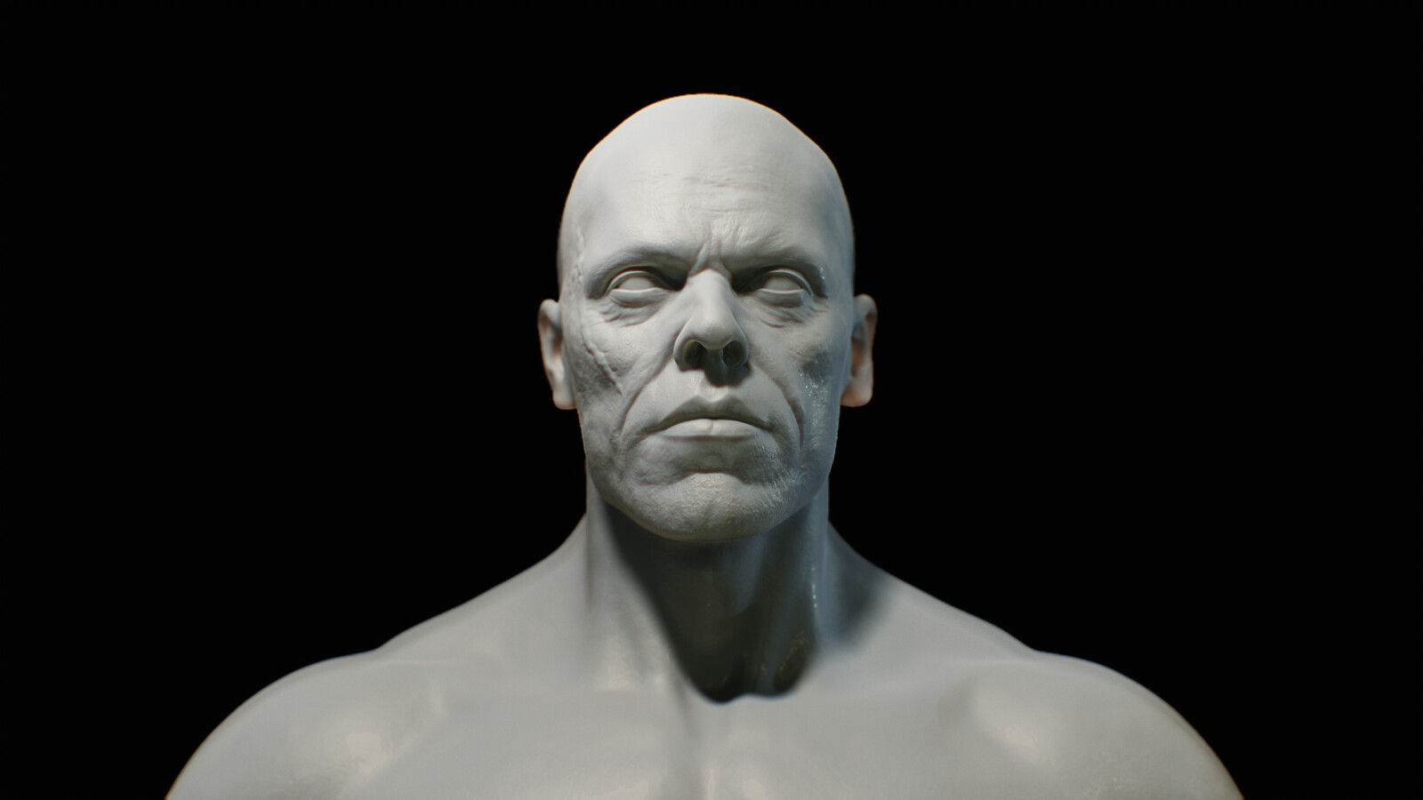 Head Sculpt for a W.I.P Chracter v5