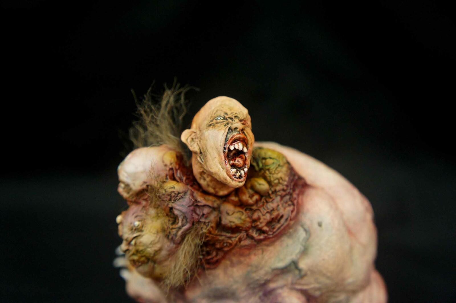 Voodoo Head Art Statue https://www.solidart.club/