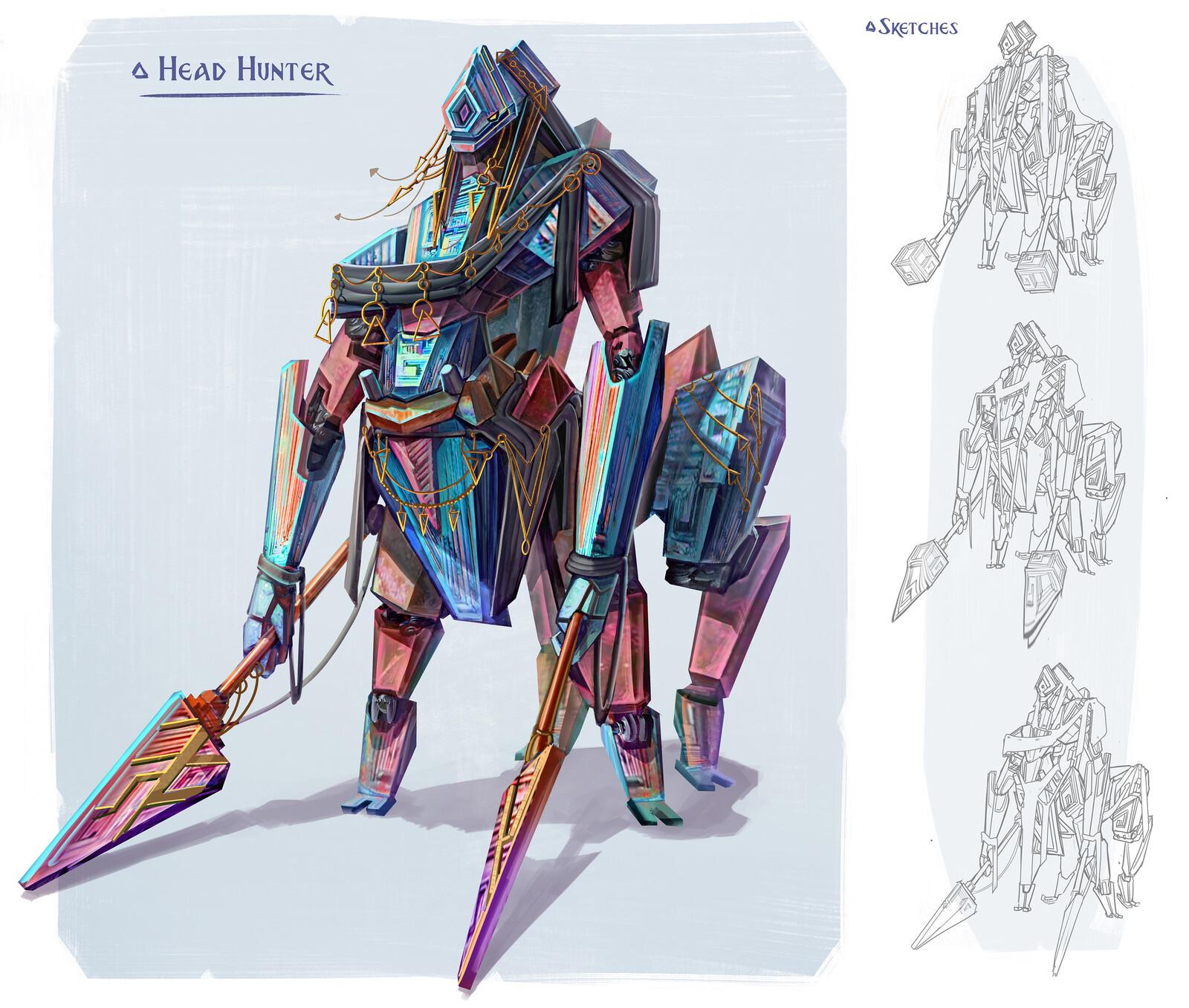 Mineral Faction: Head Hunter