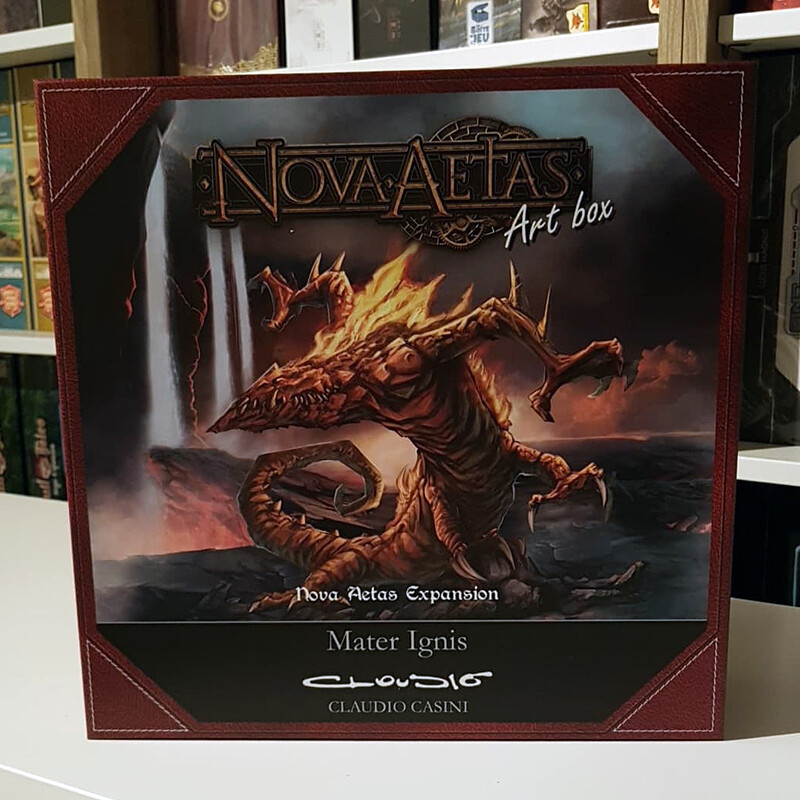 Claudio Casini Art Box for Nova Aetas Board Games