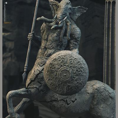 Surajit sen arano2 0 digital sculpture surajitsen june2020aa