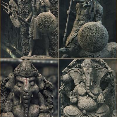 Surajit sen gajanan series digital sculptures surajitsen june2020
