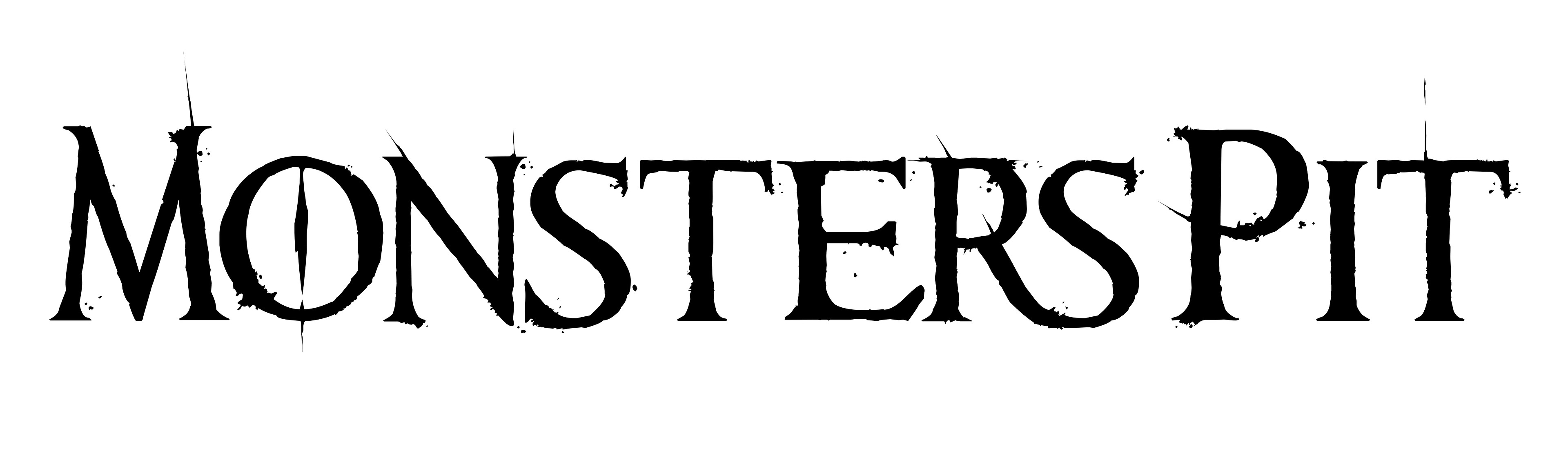 Logo Monsters Pit - Black