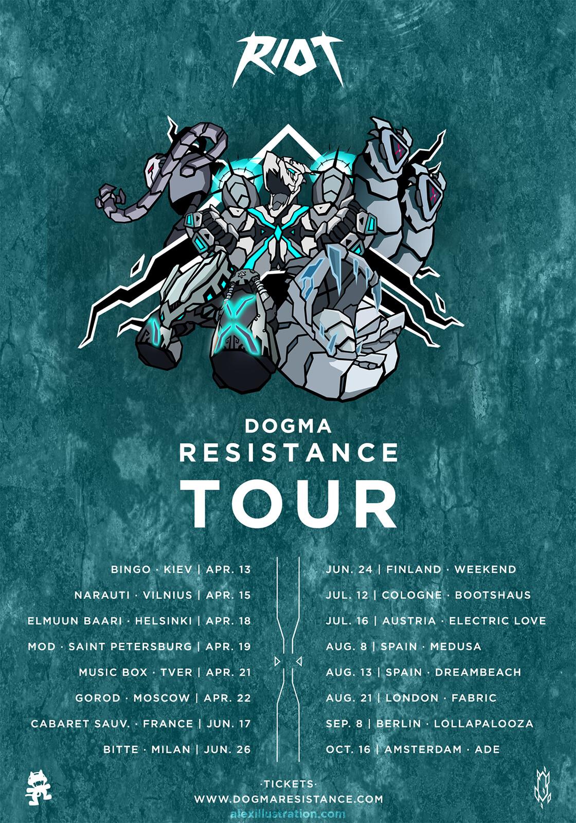Flyer - Europe Tour