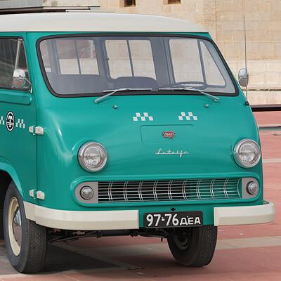 Nail khusnutdinov sals taxi 002 010 raf 977dm latviya first page 3x