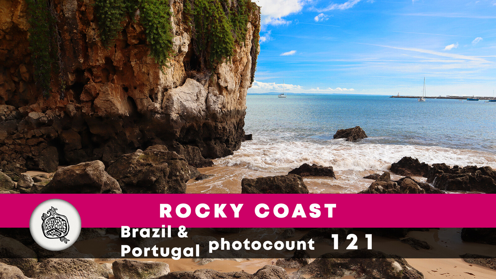 Rocky coast photopack