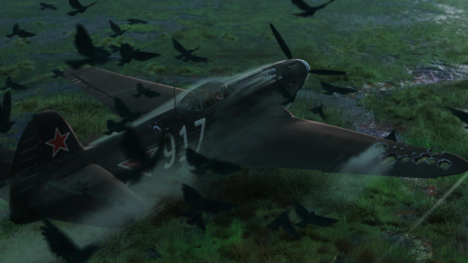 Last Flight (detail)