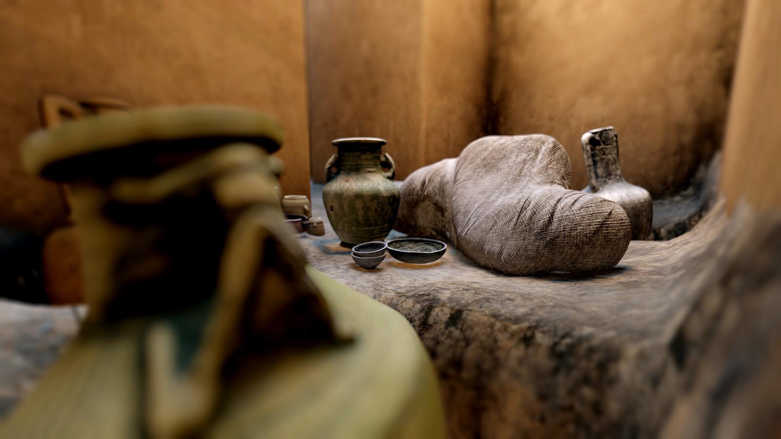 Tomb of Amud (Mleiha, U.A.E.) Virtual Reconstruction