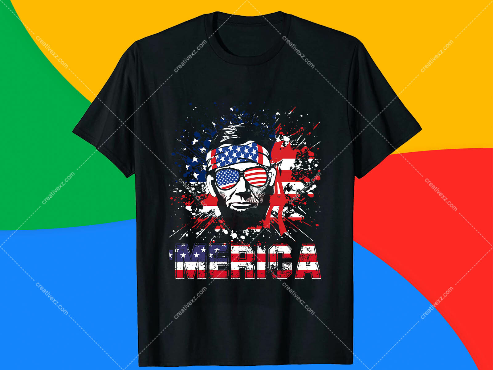 Roger Islam Abe Drinkin T Shirt Design Free Download