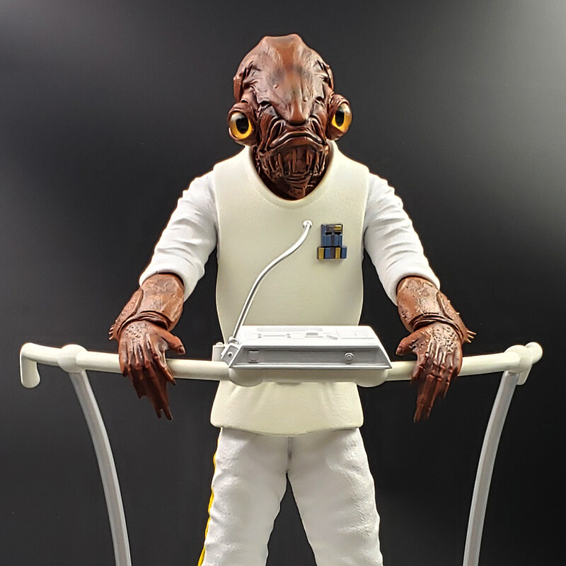 Admiral Ackbar - 1/4 scale statue