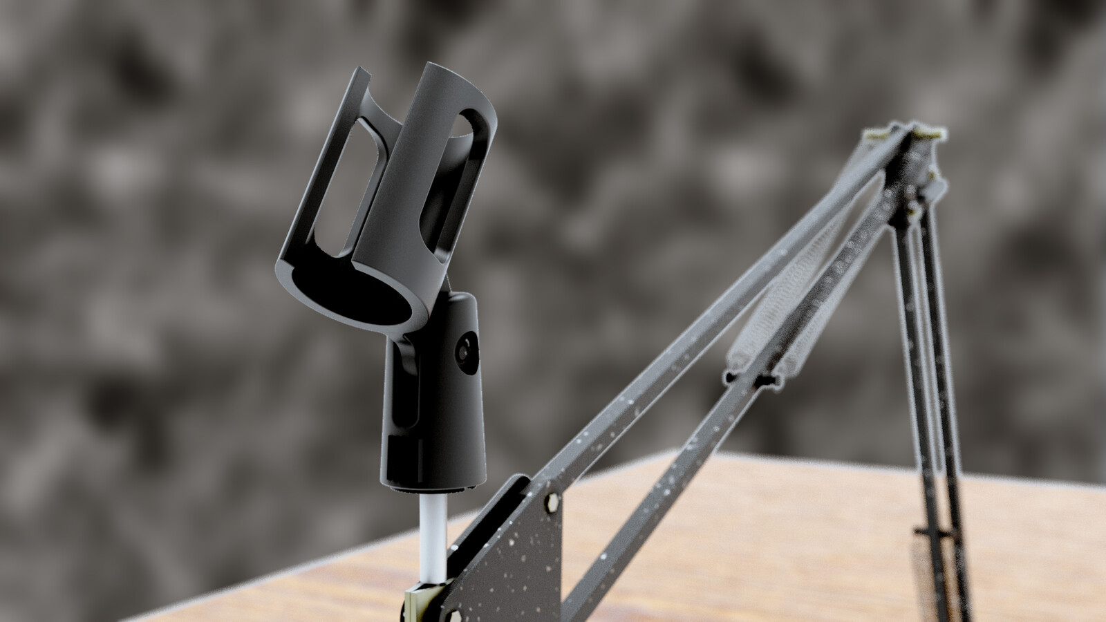 Table Top Clamping Microphone Stand/Arm