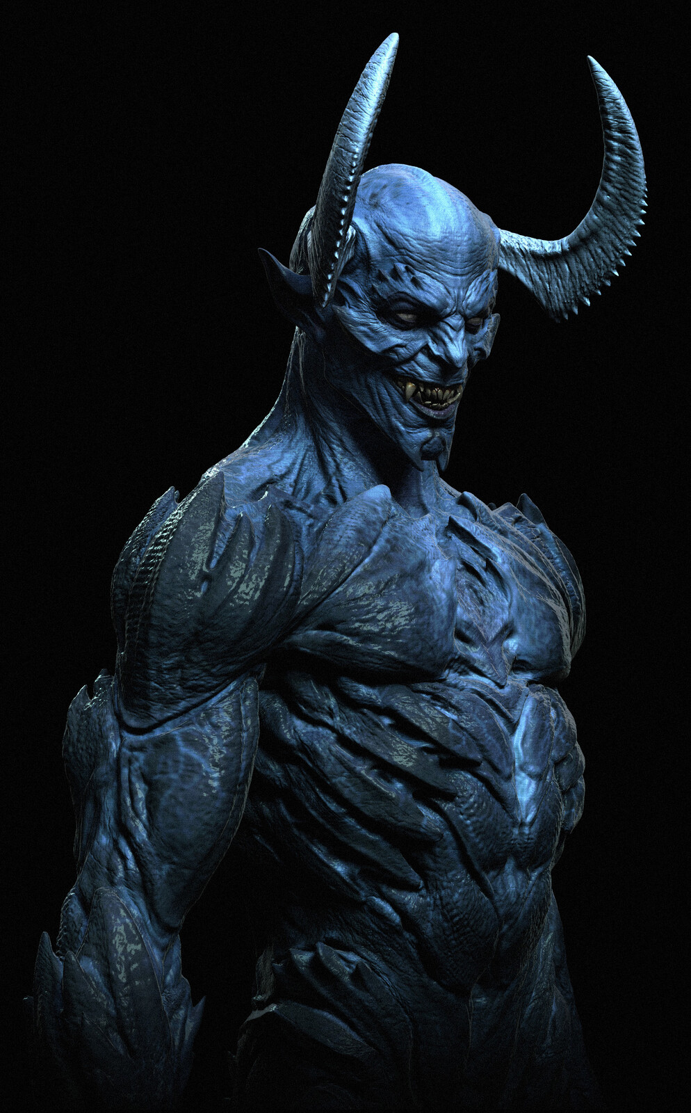 BLUE DEVIL  Designs for Swampthing