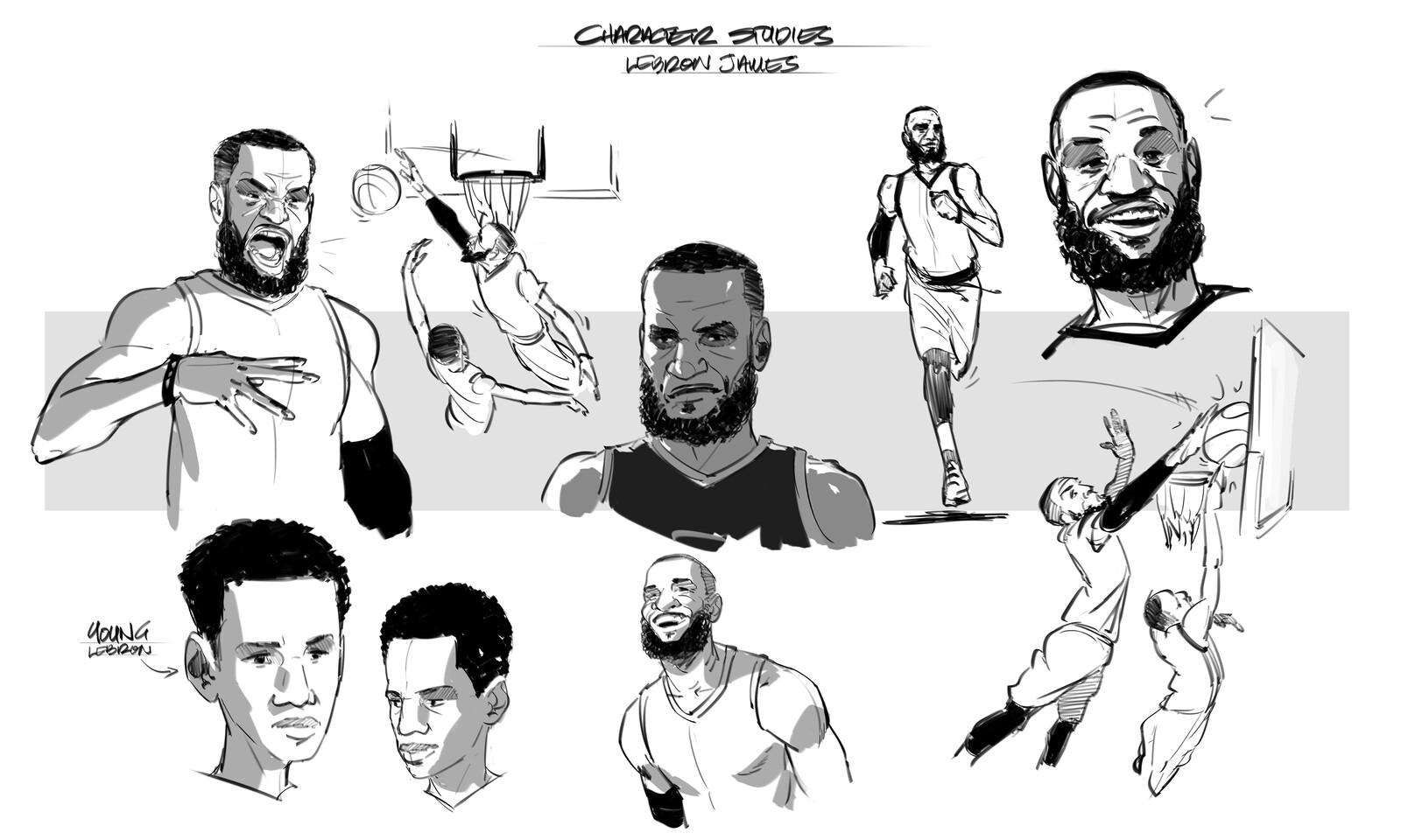 LeBron James_Short Comic