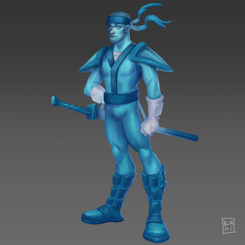 Blue the Ninja