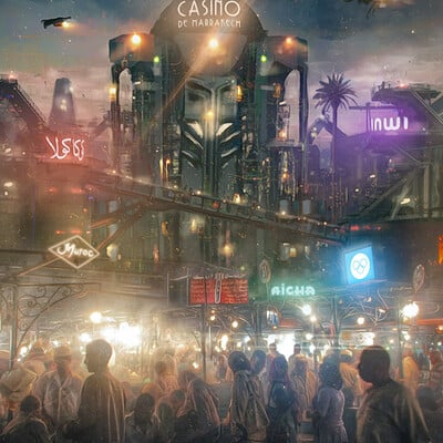Oussama benjelloun dystopianmarrakech1