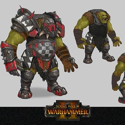 Tony sart black orc big boss