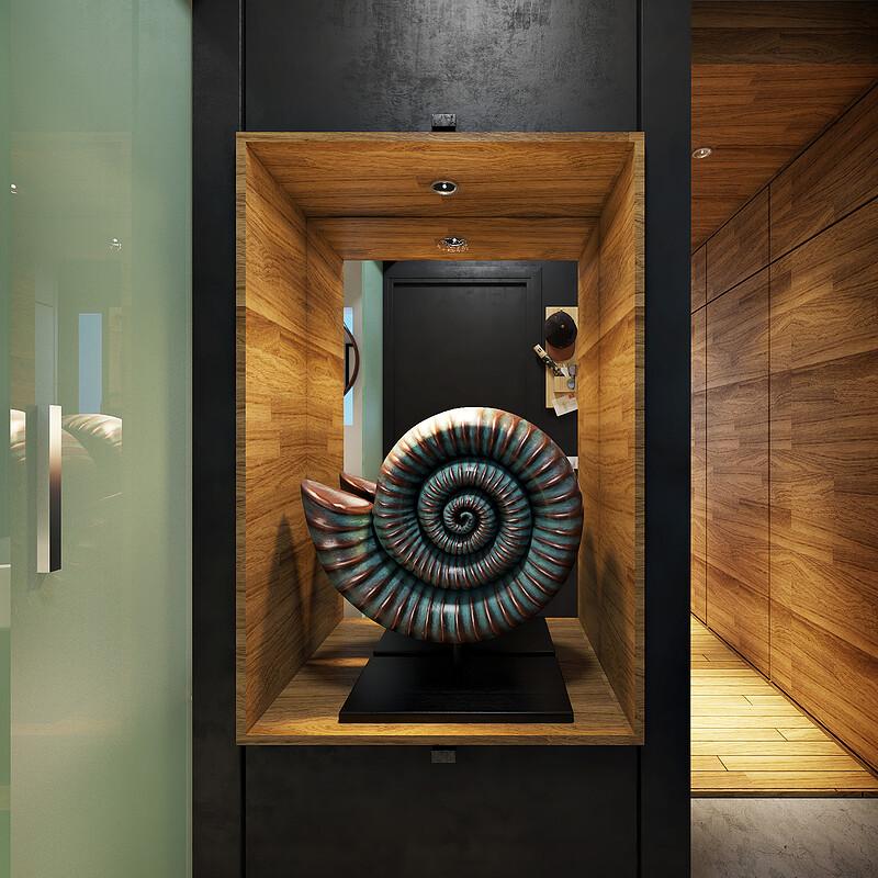 Design + 3D Interior  Comodoro Apartment detail01