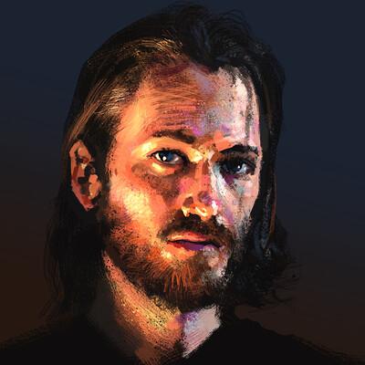 Eben schumacher self portrait