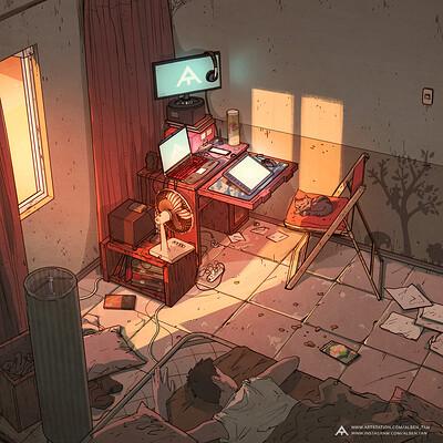 Alben tan room 2b