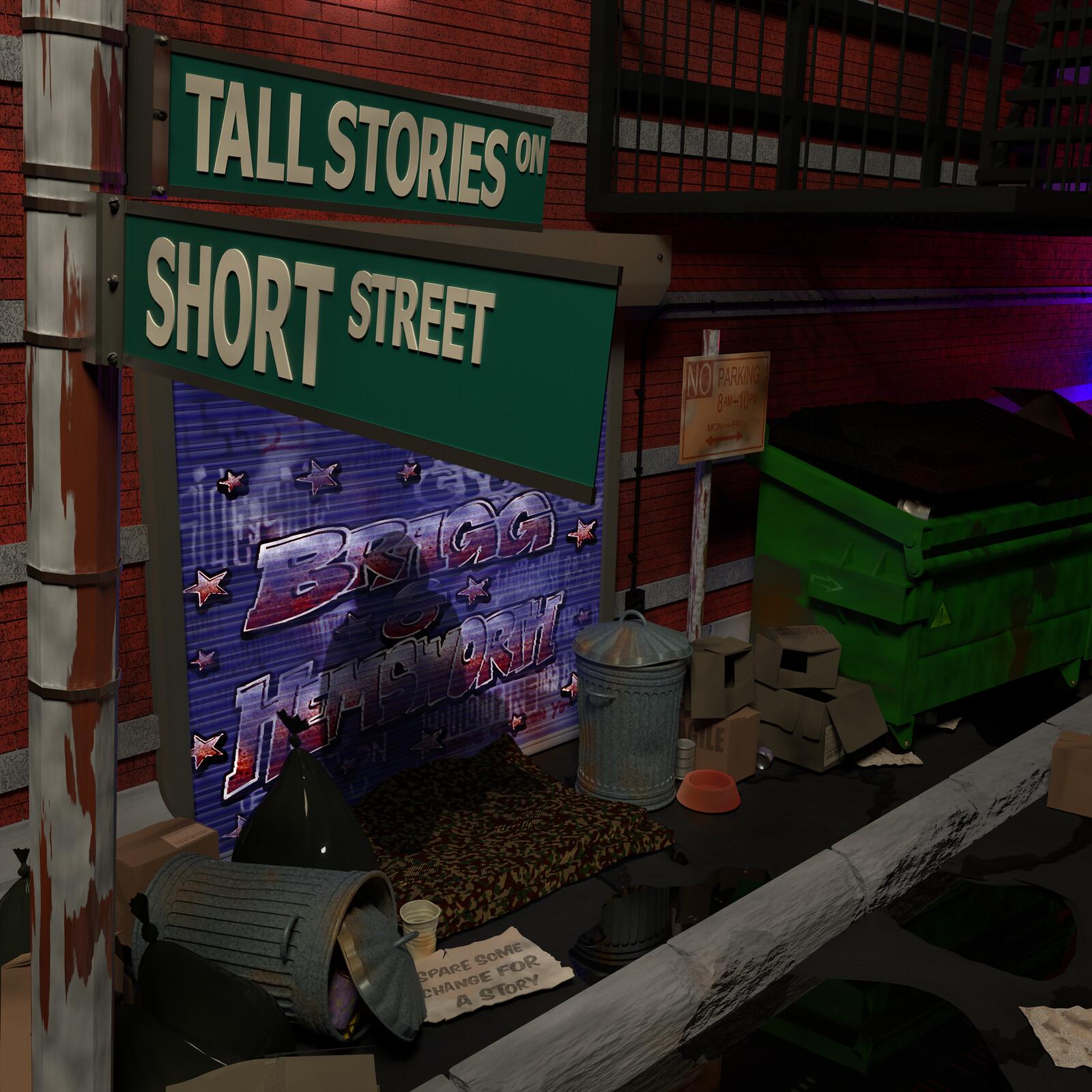 Tall Stories on Short Street