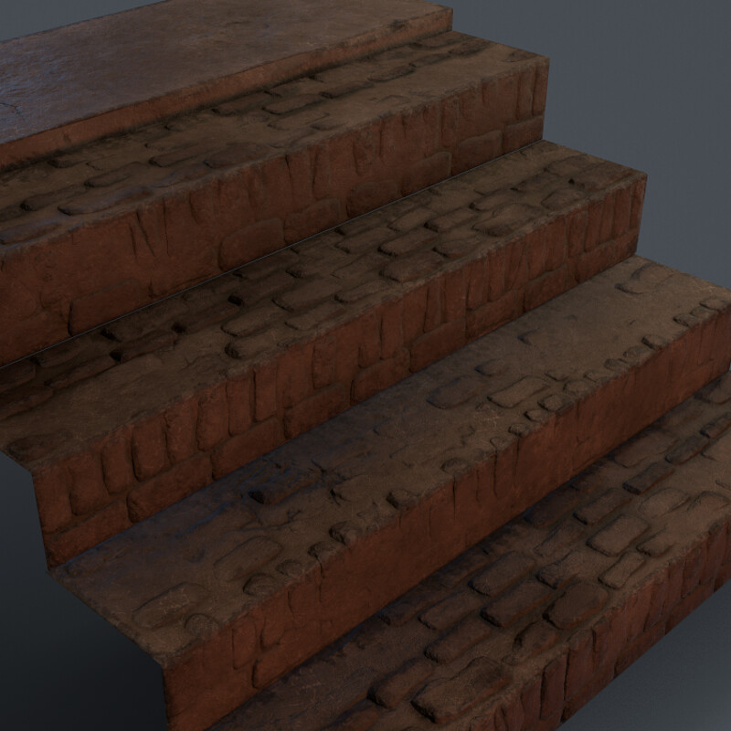 Basement Stairs - (Horror Corridor)