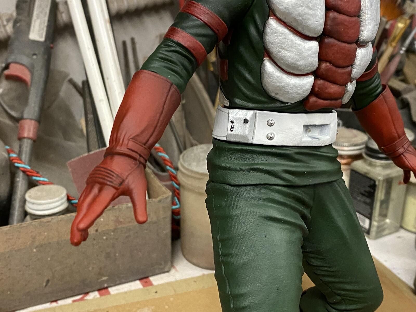 Kamen Rider V3 Art Statue 仮面ライダー V3  W.I.P.  https://www.solidart.club/