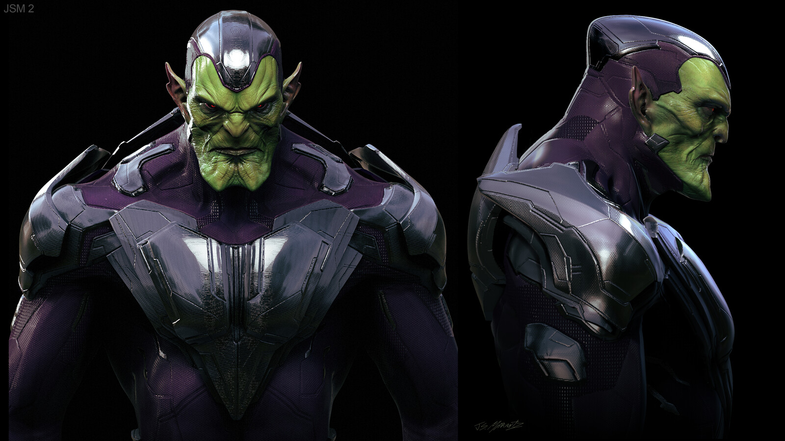 Captain Marvel: Skrull Designs