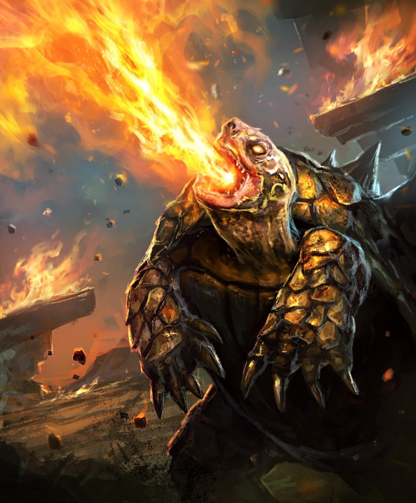 Fire Breath--Arcane Gladiator TCG