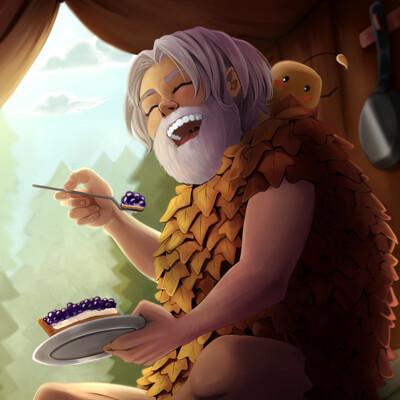 Maria efthymiadou nippaaah sdv blueberry tart final