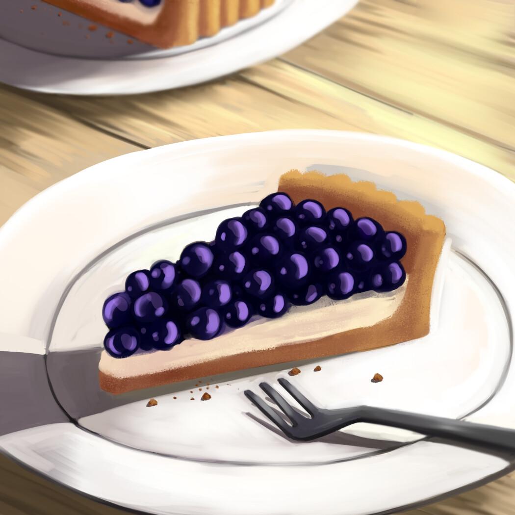Blueberry Tart Mini 1