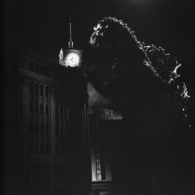 Robin kwok g54 godzilla aproaches clock tower