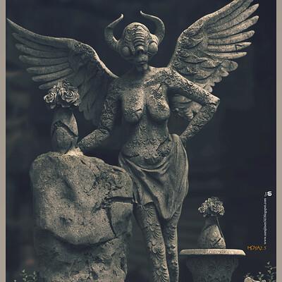 Surajit sen moya2 0 digital sculpture surajitsen june2020a