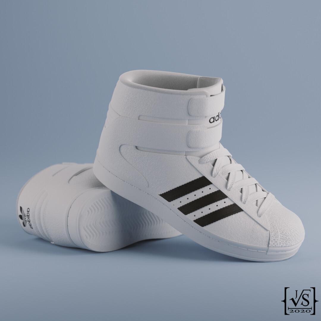 Jimmy Schell - Adidas Superstar High-Top