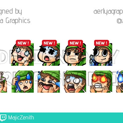 Aerlya graphics sample majiczenith emotes