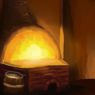 Masato lin blacksmith background